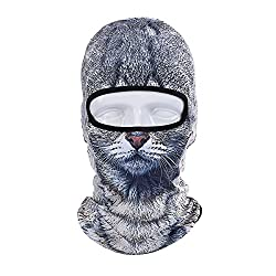 ECYC Face Mask Winter Motorcycle Balaclava Hood Outdoor Sport Cosply Costume by ECYC
