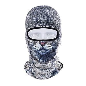 ECYC Gesichtsmaske Winter Motorrad Balaclava Hood Outdoor Sport Cosply Kostüm