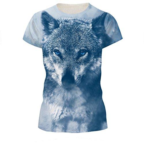 Summer Hommes T-Shirt 3D Imprimé T-Shirts Hip Hop Hommes Tee Streetwear Hommes Tops Marque de Haute Qualité LoupdeNeige L