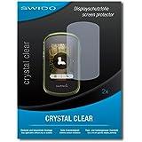 """2 x SWIDO® protecteur d'écran Garmin eTrex Touch 35 film protecteur feuille """"CrystalClear"""" invisible"""