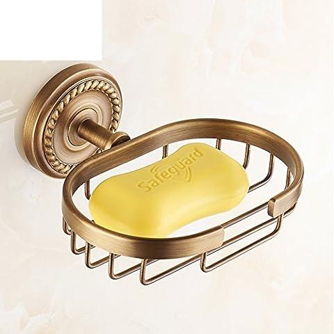 Sapone rack/Soap box/ Piatto di sapone/Accessori per il bagno di stile europeo