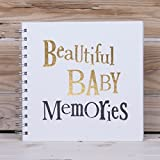 The Bright Side - Beautiful Baby Memories - Baby Scrapbook