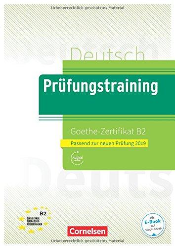 Prufungstraining Goethe-Zertifikat B2 (n.e.) por CORNELSEN