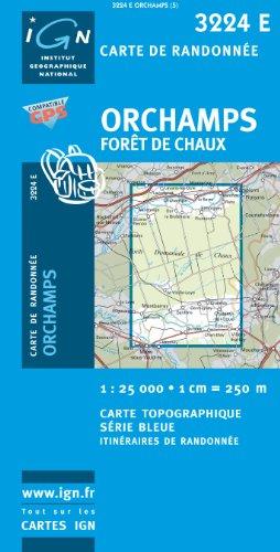 Orchamps/Foret De Chaux GPS: IGN3224E