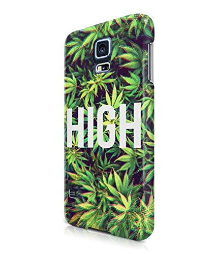 High On Weed Trippy Marry Jane Plastic Snap-On Case Cover Shell For Samsung Galaxy S5