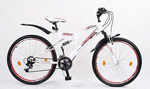 24' 24 Zoll Kinderfahrrad Mountainbike Kinder Fahrrad Rad Bike Jugendfahrrad Dynamic Rot