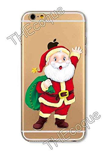 Coque RIGIDE de qualite IPHONE 4/4s - Joyeux Noel christmas cadeaux hiver drole design Swag motif 6 DESIGN case+ Film de protection OFFERT 6