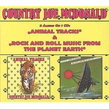 Country Joe McDonald - Animal Tracks / Rock And Roll Music From The Planet Earth (Digipak)