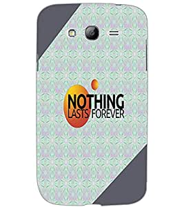SAMSUNG GALAXY GRAND NEO PLUS NOTHING Back Cover by PRINTSWAG
