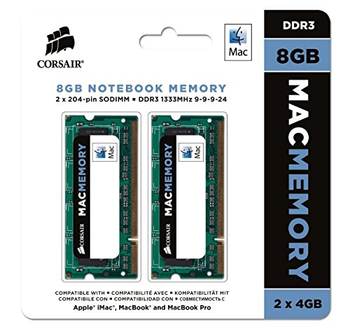 Corsair-Mac-Memory-Memoria-para-Apple-Mac-de-8-GB-2-x-4-GB-DDR3-SODIMM-1333-MHz-CL9-certificada-por-Apple-CMSA8GX3M2A1333C9