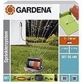 Gardena 8221-20 - Kit Aspersor oscilante emergente OPUS 140