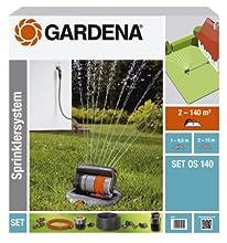 Gardena Opus 140 Kit Aspersor Oscilante Emergente, Standard