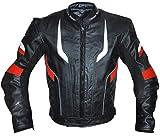 German Wear–Chaqueta de moto chaqueta de piel chopper Chaqueta Cruiser