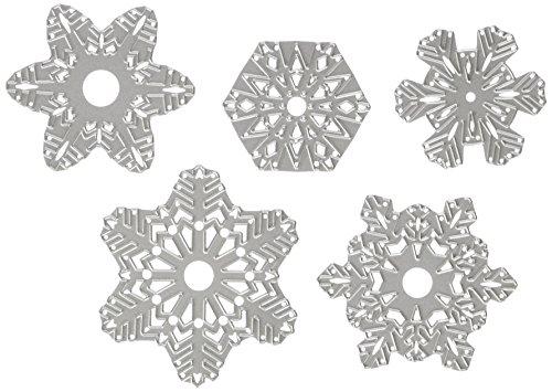 Sizzix 660059-5 fustelle, fiocchi di neve di carta