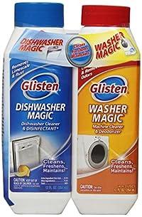 Glisten MDAO6T Twin Pack Dishwasher Magic/Washer Magic, Includes Pack of 6 12-Ounce of Dishwasher Magic and Pack of 6 12-Ounce of Washer Magic
