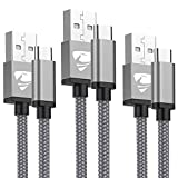 USB C Cable Aioneus (3Pack 1M+1.5M+2M) Type C Cable Fast