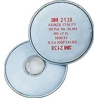 3M 2138 - Filtro de particulas - 10 pares de 2 piezas - Azul