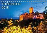 THÜRINGEN 2018 (Tischkalender 2018 DIN A5 quer): Ein Jahr Thüringen. 13 faszinierende Aufnahmen des Freistaates in der Mitte Deutschlands. ... [Kalender] [Apr 01, 2017] Dieterich, Werner