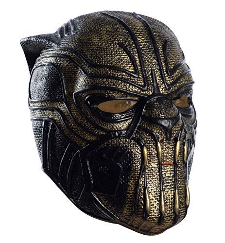 Rubie's Marvel Black Panther Erik Killmonger Child Full Maske (Maske Black Panther-marvel)