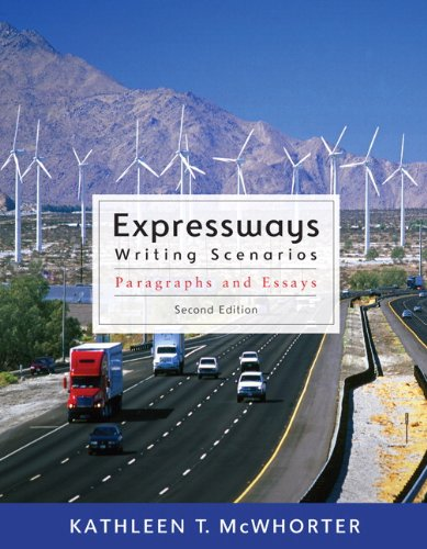 Expressways for Writing Scenarios: From Paragraph to Essay [With Sticker Tabs] (Mywritinglab (Access Codes))