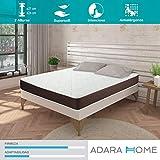 Adara Home Tempo - Colchón Viscoelástico 90x180, Altura 21cm