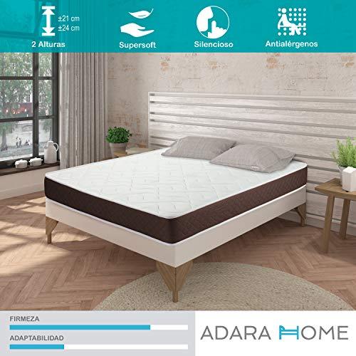 Adara Home Tempo - Colchón Viscoelástico 120x180, Altura 21cm