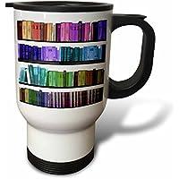 statuear Colorful Libreria in acciaio inox 14-ounce Tazza Da Viaggio