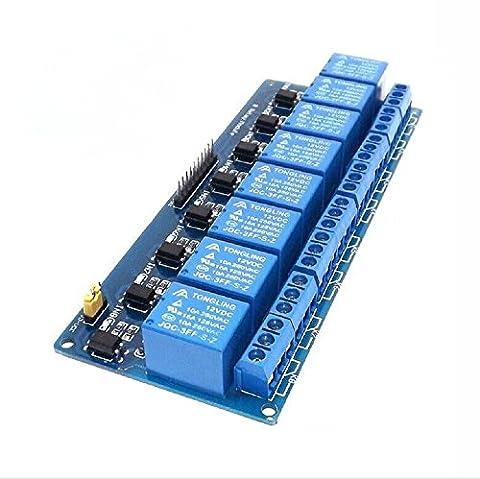 5V Module de relais electronique a bouclier de 8 canaux pour Arduino PIC AVR MCU DSP ARM