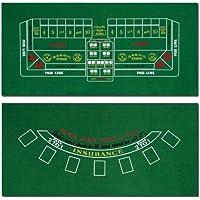 Brybelly Blackjack und Craps Tisch Filz, 182,9x 91,4cm