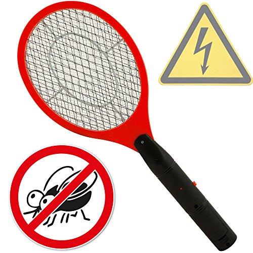 Fliegenklatsche Elektrisch Insektenvernichter Insektenfalle Fliegenfänger Klatsche