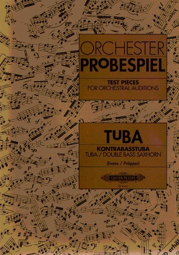 Test Pieces For Orchestral Audition Tuba