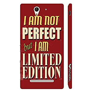 Sony Xperia C3 Limited Edition designer mobile hard shell case by Enthopia