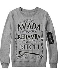 """Sweatshirt Harry Potter Phantastische Tierwesen und wo sie zu finden sind """"AVADA KEDAVRA BITCH"""" C980147"""
