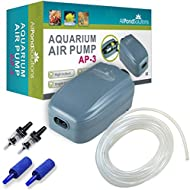 All Pond Solutions Aquarium Tropical Air Pump, 180 L/H Flow Rate