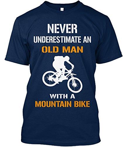 Camiseta Teespring con Impresión para Hombres y Mujeres - S - LIMITED EDITION MOUNTAIN BIKE