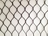 Nutley's 5 x 4 m Heavy-Duty Woven Bird Netting - Black