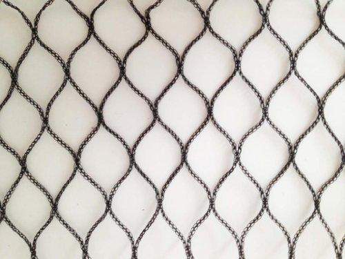 Nutley 's 5x 4m schwere Woven Vogelnetz–Schwarz
