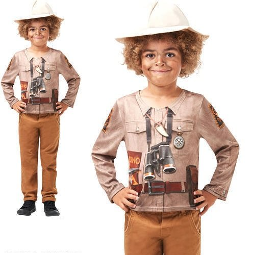Kostüm Kit Safari Jungle Zoo Keeper Kinder Kostüm Gr. M 5–6 Jahre (Zoo Keeper-kostüm Für Kinder)