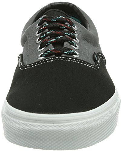 Vans U ERA Unisex-Erwachsene Sneakers Grau ((Tritone) Blck/ / DPZ)