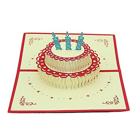 Upere, biglietti pop up 3d per anniversari, nozze, compleanni, festa della mamma, festa del papà, ringraziamenti, 4#