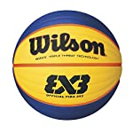 Suitable for indoor and outdoor performances, including a Wave Triple Threat technology providing a next-level ball control during fast dribbling, the Wilson FIBA 3x3 Official Game Basketball is the ideal choice for tough outdoor environments where t...