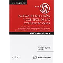 Nuevas tecnologías y control de las comunicaciones (Monografía)