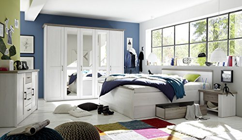 Schlafzimmer Komplett Set 5-tlg.