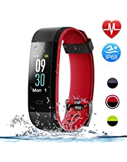 HolyHigh Smart Bands 115C Fitness Watch IPX68 Waterproof Co