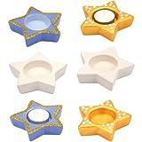 Baker Ross Porte-Bougies Chauffe-Plats étoile en céramique Parfaits pour Les...