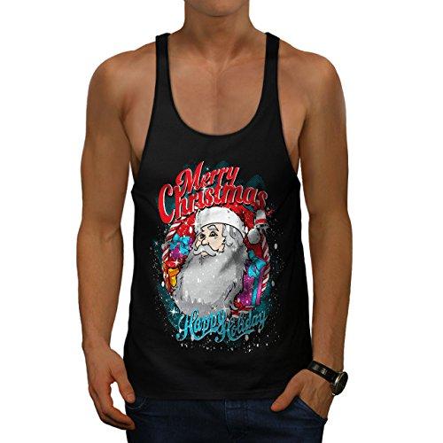 b Weihnachten Herren S Gym Muskelshirt | Wellcoda (Coole Halloween-kuchen-ideen)