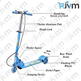 #9: 3 Wheel Scooter/Cycle with Height Adjustable & Fold able Kids Scooter with Led Lights in Wheel (Brake & Bell) (Blue)