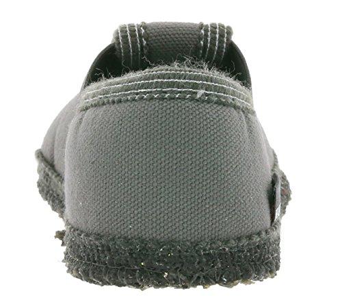 HAFLINGER Slipper Donny Schuhe Kinder Hausschuhe Pantoletten Grau 629164 0 4 Grau