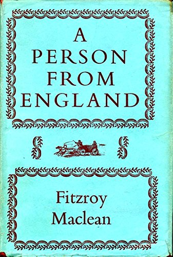 A PERSON FROM ENGLAND: AND OTHER TRAVELLERS.