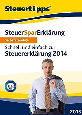 SteuerSparErklärung für Selbstständige 2015 (für Steuerjahr 2014) [Download]